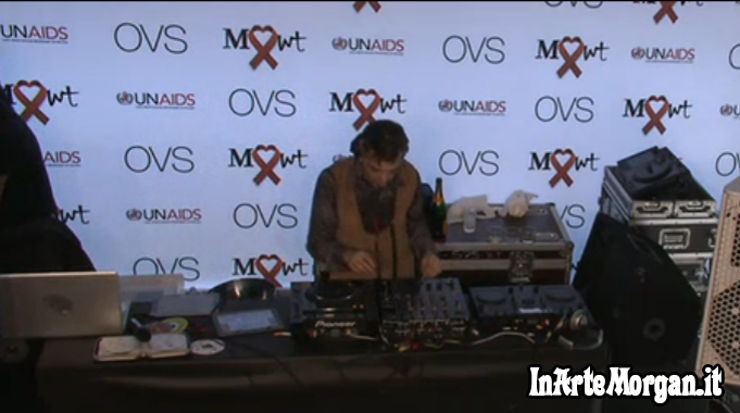 Morgan Dj-set OVS Milano