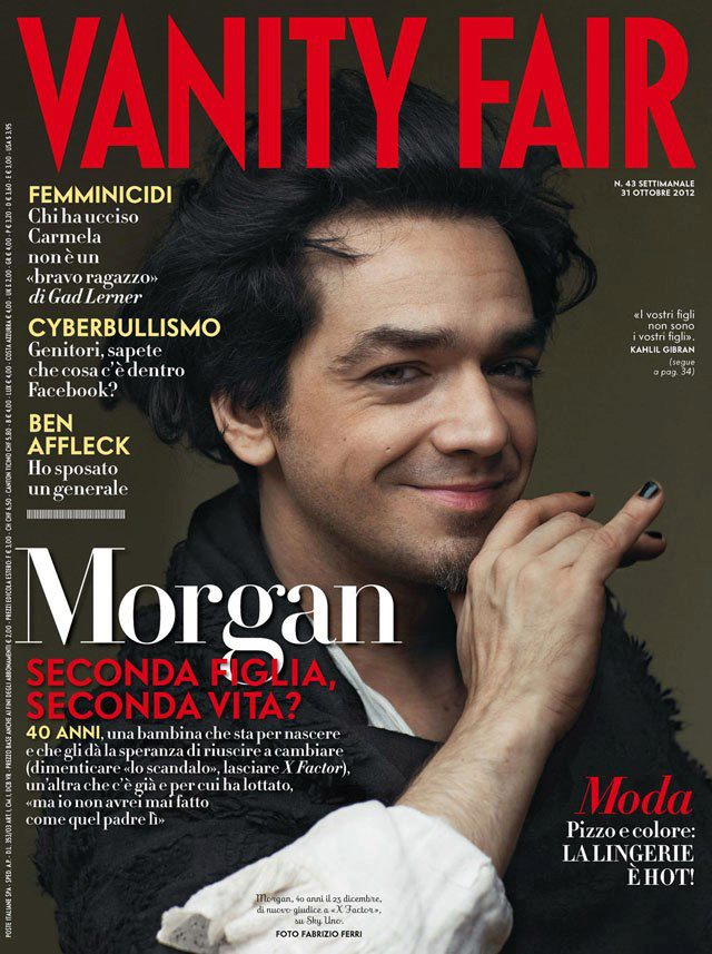 Morgan su Vanity Fair
