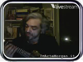 Morgan in VideoChat su inartemorgan.it