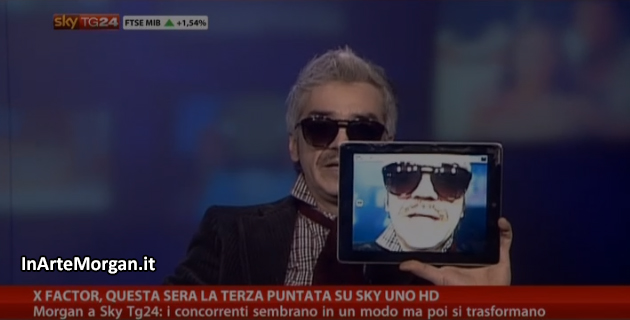 Morgan a Sky Tg24